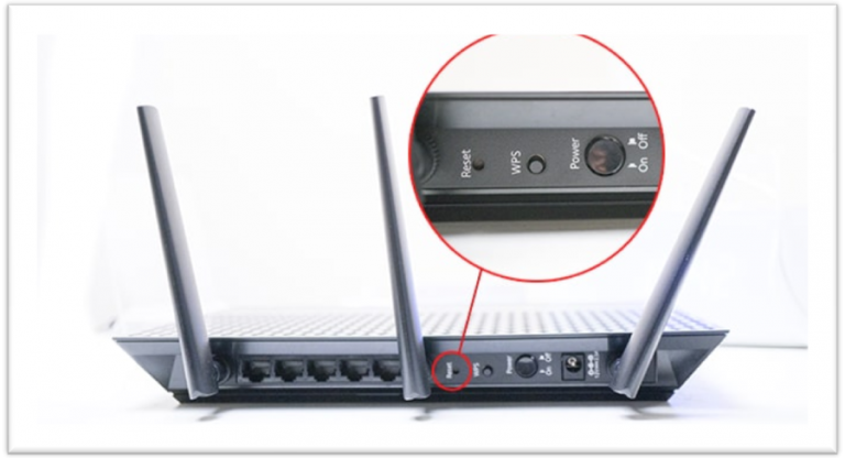 How to Reset a WiFi Router 1