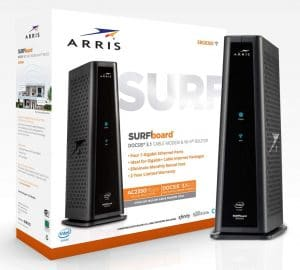 ARRIS SURFboard SBG8300 DOCSIS 3.1 Wi-Fi Router