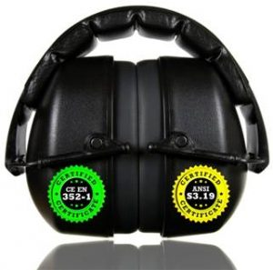 ClearArmor 141001 Hearing Protection Safety Ear Muffs