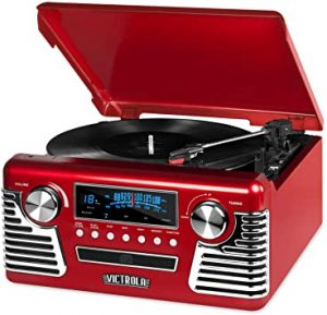 Victrola Record Player & Speakers