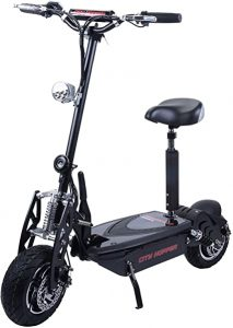 City Hopper 800W Turbo Foldable Electric Scooter