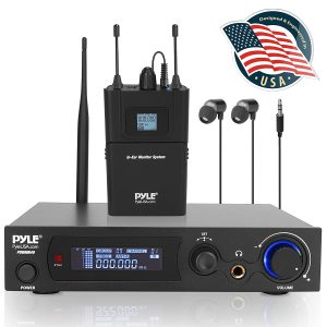 Pyle In-Ear Wireless Monitor and Receiver
