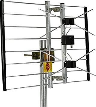 Channel Master EXTREMEtenna Long Range Multi-Directional Outdoor TV Antenna - 80 Mile Range - Preassembled - Install on Rooftop or Attic | CM-4228HD