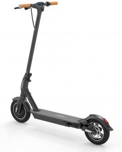 """TOMOLOO Electric Scooter for Adults, 8.5"""" Air Filled Tires Lightweight Portable Folding E-Scooter, Up to 15.5 Mile Range and 15.5 MPH Top Speed, LED Lighting and App connectivity Scooter"""