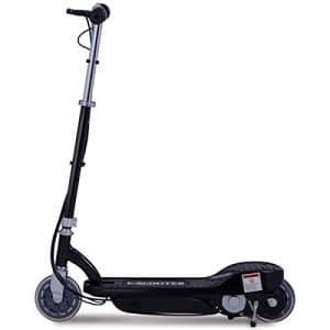 Costzon Electric Scooter, 24 Volt Lightweight Scooter for Teens with Rechargeable Battery (Foldable Scooter with Seat)