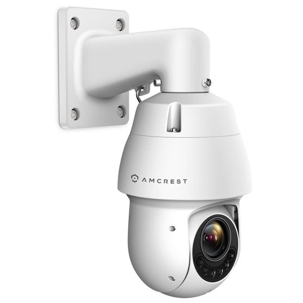 Amcrest WiFi Outdoor PTZ IP Camera, Wireless Pan Tilt Zoom (25x Optical) Security Camera, Dual-Band 2.4ghz/5ghz, Starvis Low Light, 328ft Night Vision, IP66 Weatherproof, 1080P 2-Megapixel, IP2M-858W