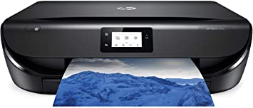 HP ENVY 5055 Wireless All-in-One Photo Printer, HP Instant Ink or Amazon Dash replenishment ready (M2U85A), Black