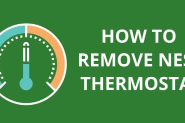 How To Remove Nest Thermostat