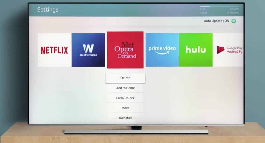 How To Delete Preinstalled Apps On Samsung Smart TV 3