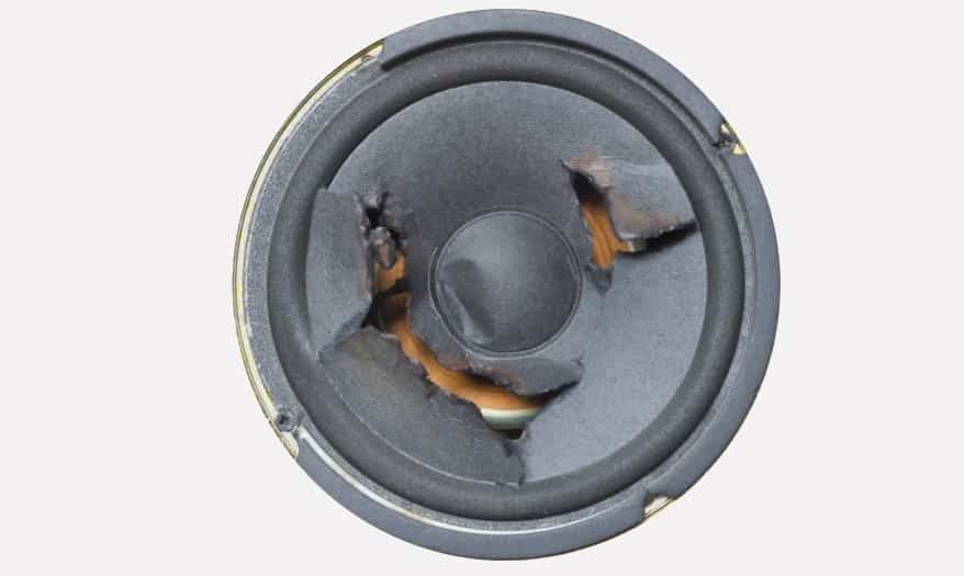 How To Fix a Blown Speaker